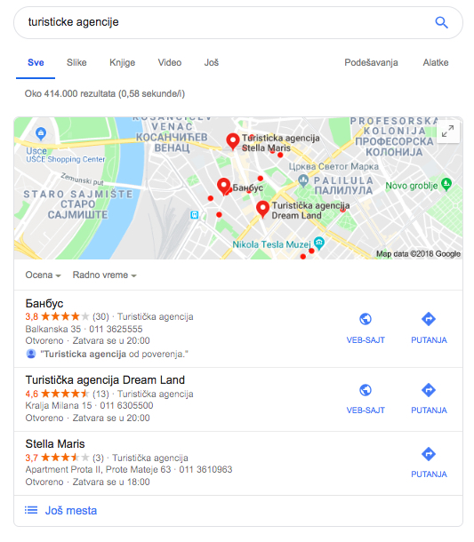 lokalna pretraga primjer