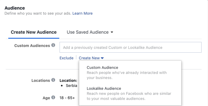 lookalike publika fb ads